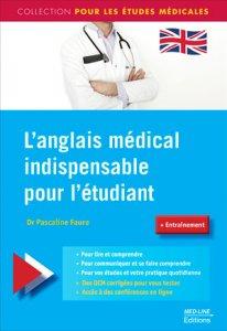 Couverture Faure 2016 L'anglais médical indispnesable